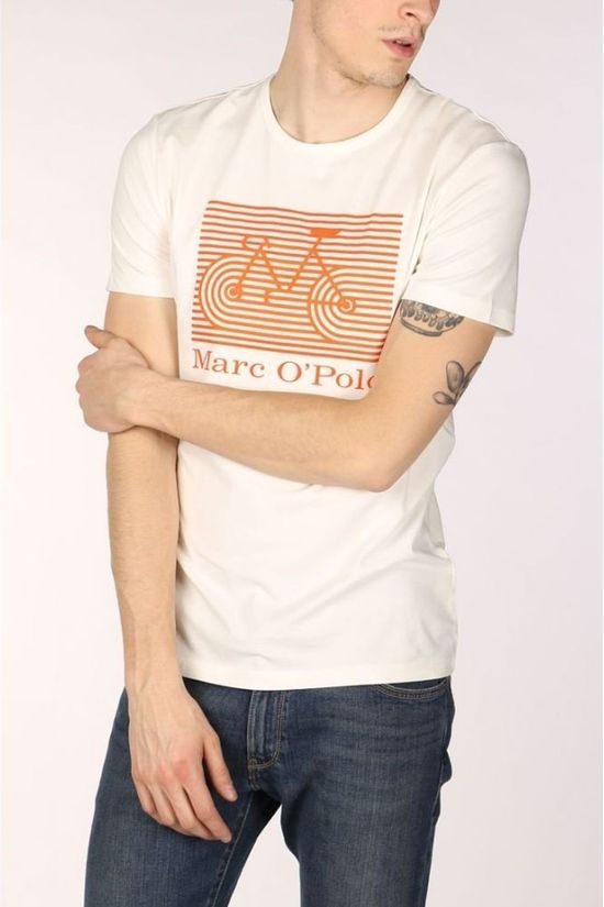 Marc O'Polo T-Shirt 022224051312 white