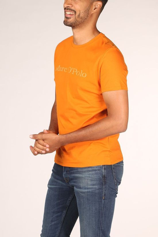 Marc O'Polo T-Shirt 026222051230 Oranje