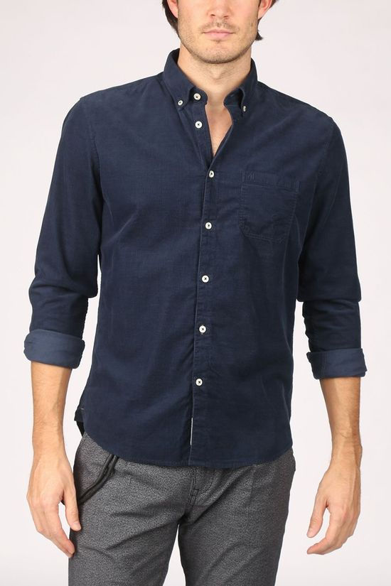 Marc O'Polo Shirt 029722842130 dark blue