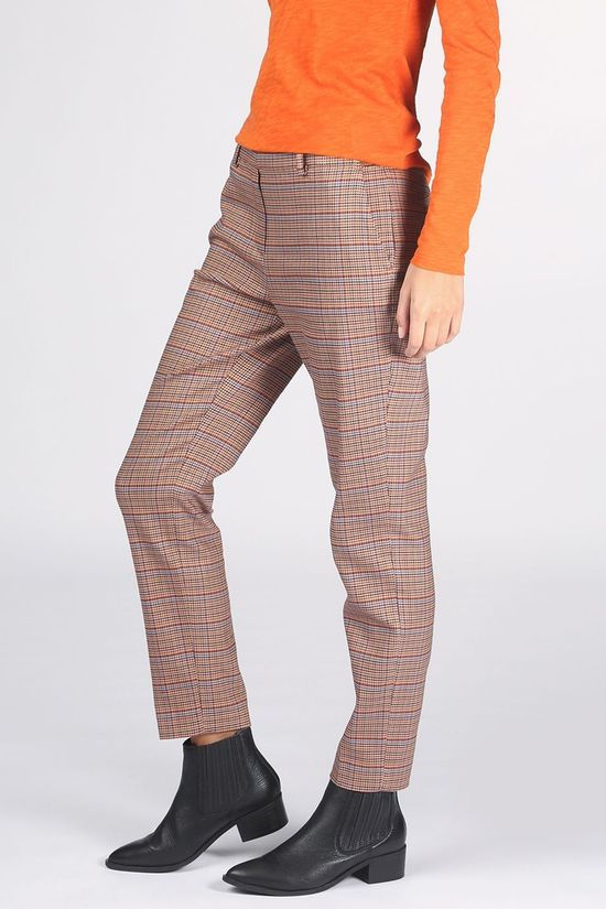 Marc O'Polo Trousers M08 0169 10055 Sand Brown/Rust