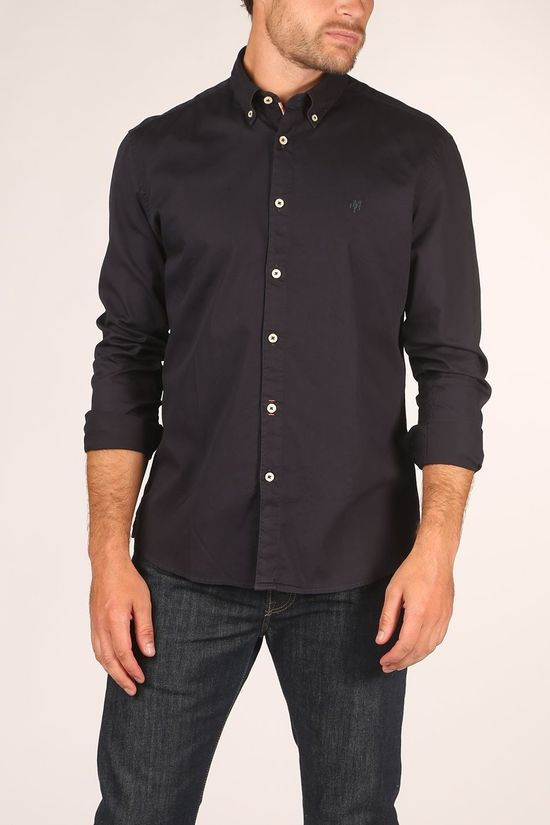 Marc O'Polo Hemd M27766842156 Donkerblauw