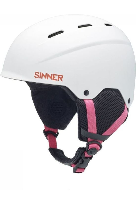 Sinner Ski Helmet Poley white