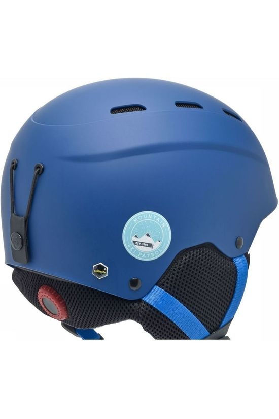 Sinner Skihelm Poley Middenblauw