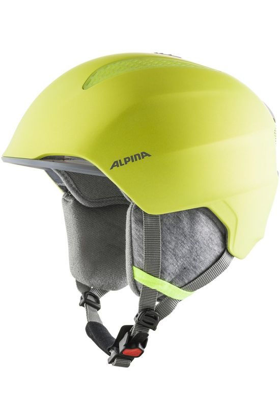 Alpina Casque De Ski Grand Jr Jaune Moyen