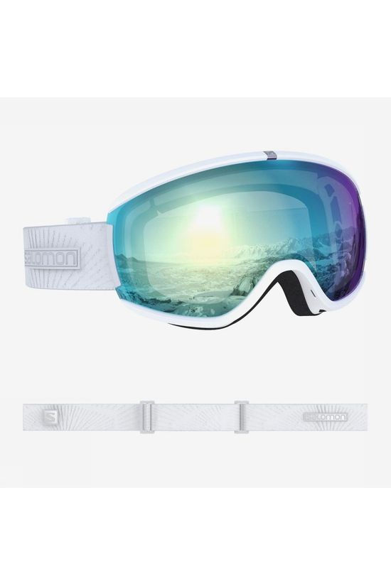 Salomon Ski Goggles Ivy Photo Sigma white/blue