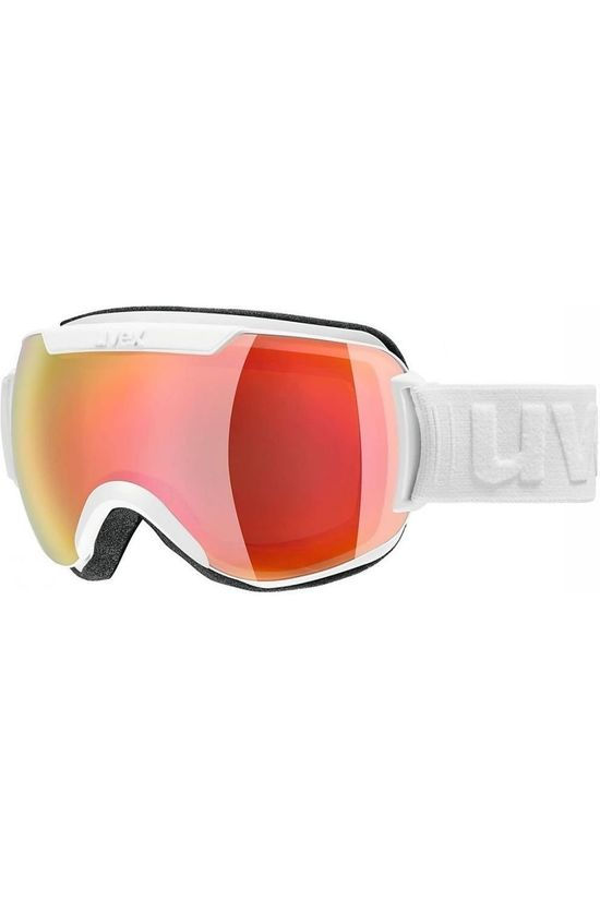 Uvex Ski Goggles Downhill 2000 FM white/red