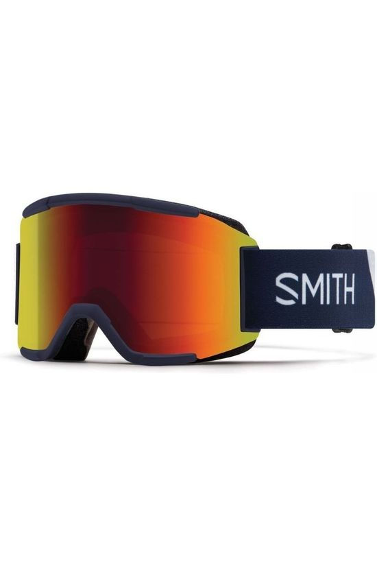 Smith Ski Goggles Squad Navy Blue/Red