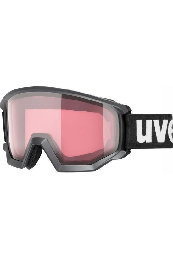 Uvex Ski Goggles Athletic V black/mid pink