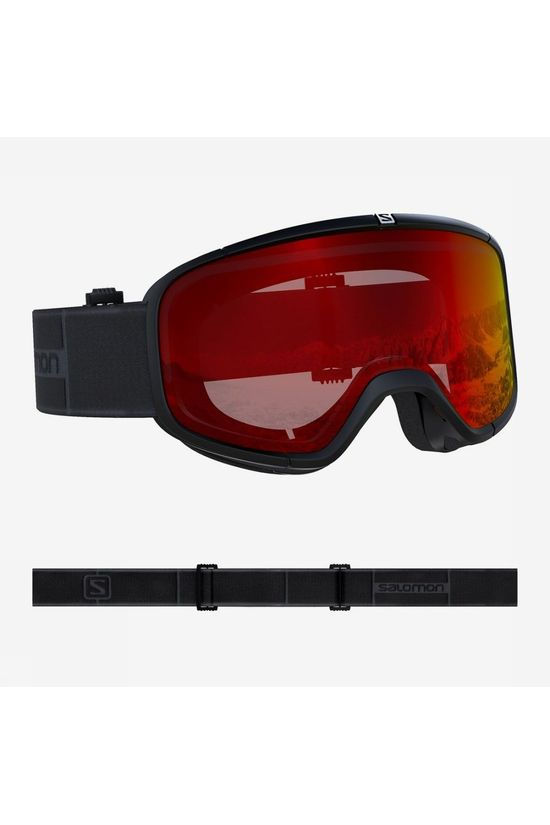 Salomon Ski Goggles Four Seven black/mid grey