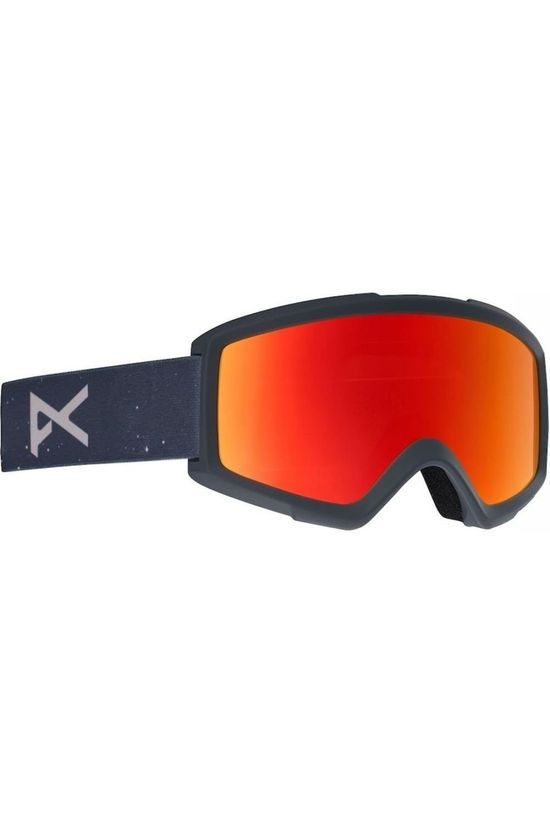 Anon Ski Goggles Helix With Spare black/red