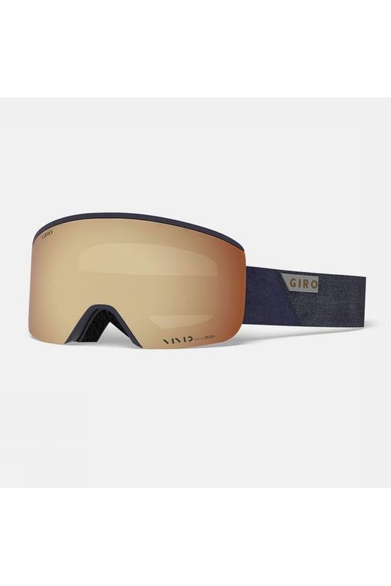 Giro Ski Goggles Axis With Spare Lens Navy Blue/Copper