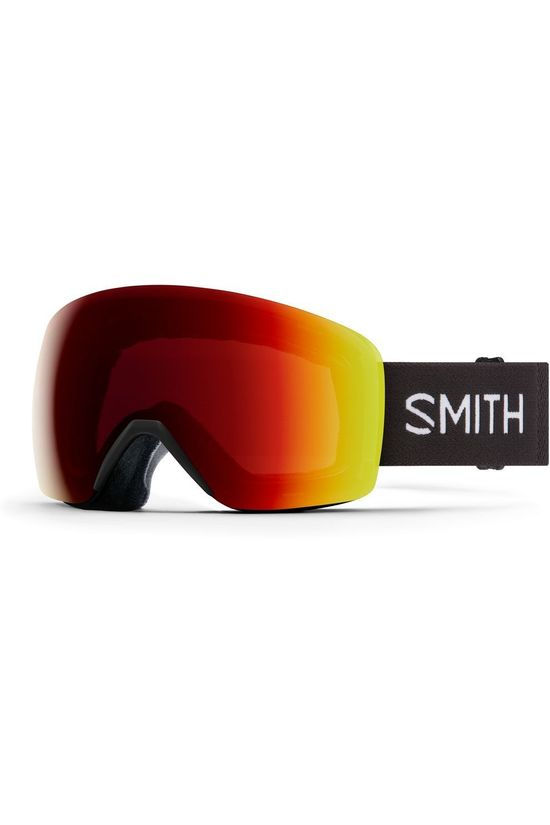 Smith Ski Goggles Skyline black/red