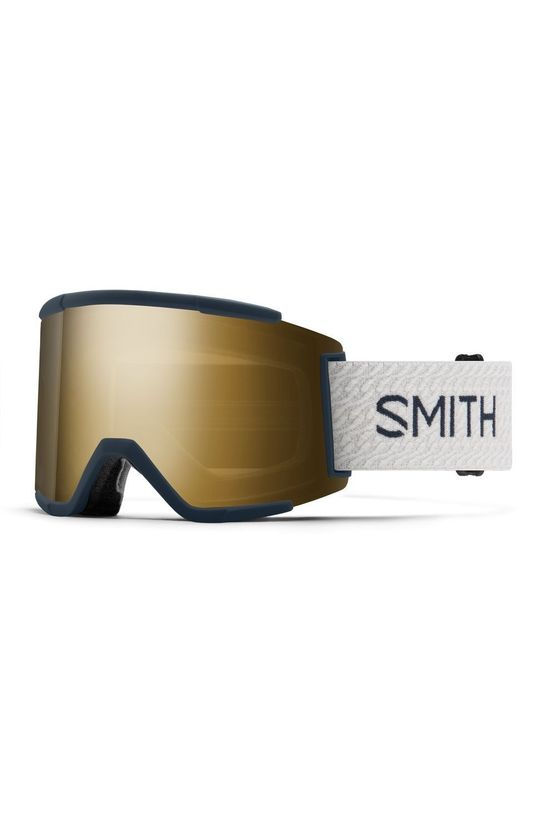 Smith Skibril Squad Xl Marineblauw/Goud