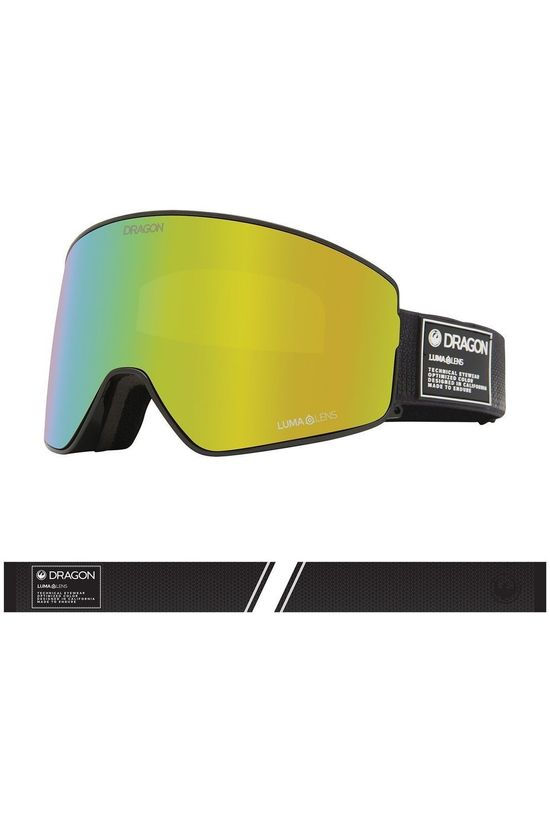 Dragon Ski Goggles Pxv2 mid grey/gold
