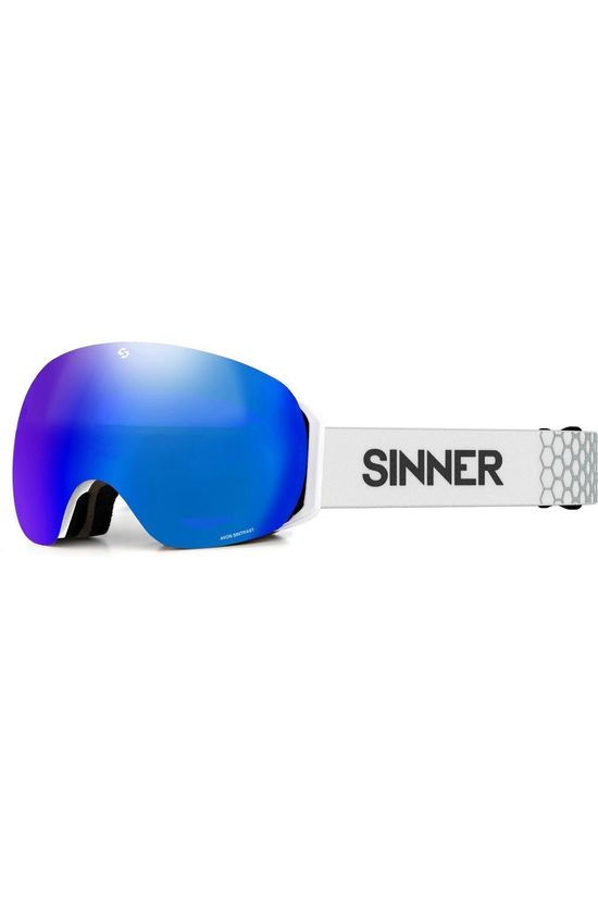 Sinner Ski Goggles Avon light grey/blue