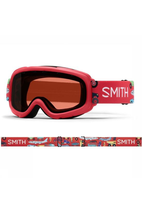 Smith Ski Goggles Gambler red/mid pink