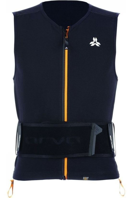 Arva Avalanche Equipment Protection Action Vest Pro Rugbeschermer dark grey/orange