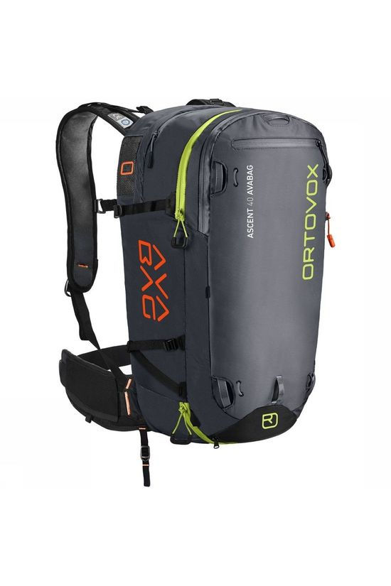 Ortovox Snow Safety Ascent 40 Avabag black/dark grey