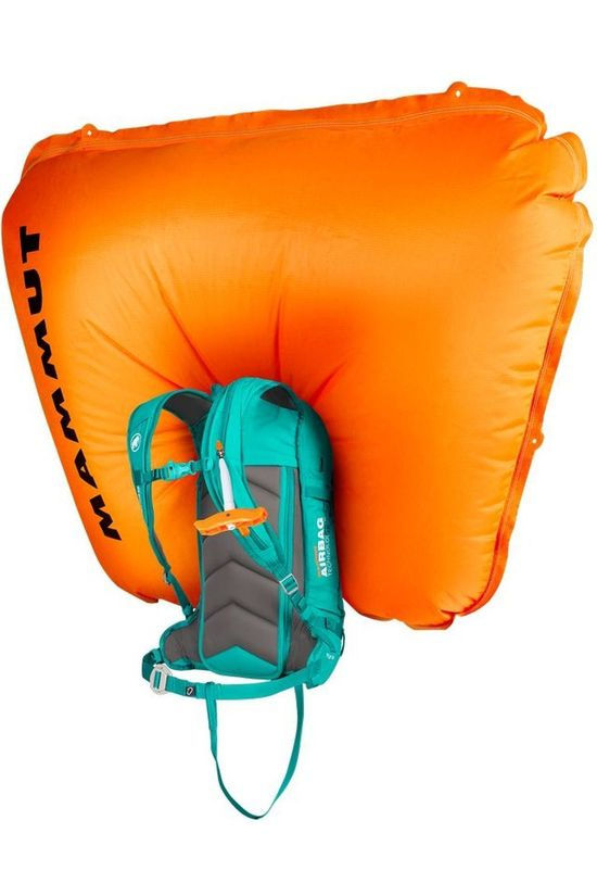 Mammut Snow Safety Flip Removable Airbag 3.0 Turquoise/Black