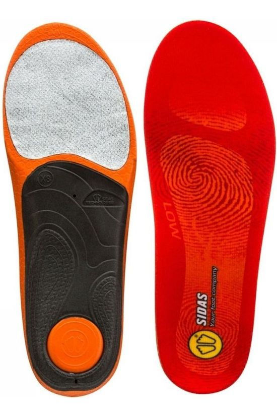 Sidas Maintenance 3 Feet Low Sole mid red