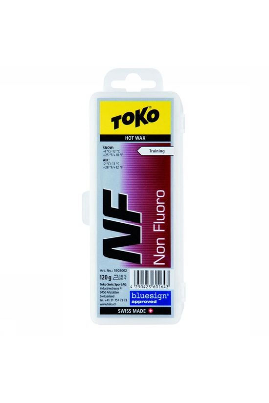 Toko Maintenance NF Hot Wax Red 120G No colour / Transparent