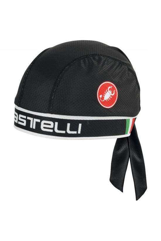 Castelli Head Gear Bandana black/white