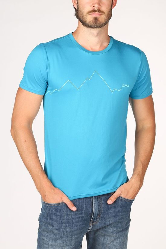 CMP T-Shirt 39T7567 Turquoise