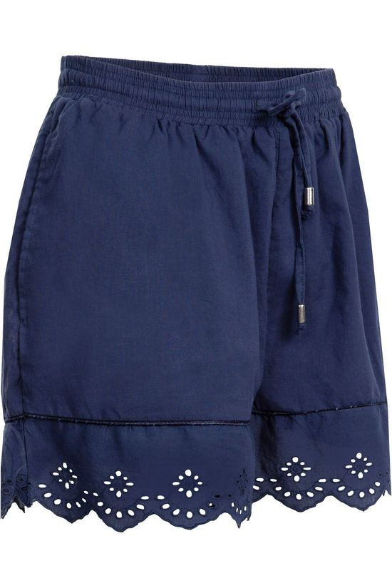 Superdry Lace Broderie Short Marineblauw