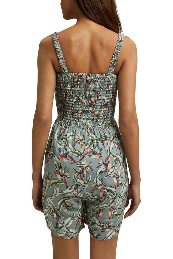 Esprit Jumpsuit Playsuit Lichtkaki/Ass. Bloem