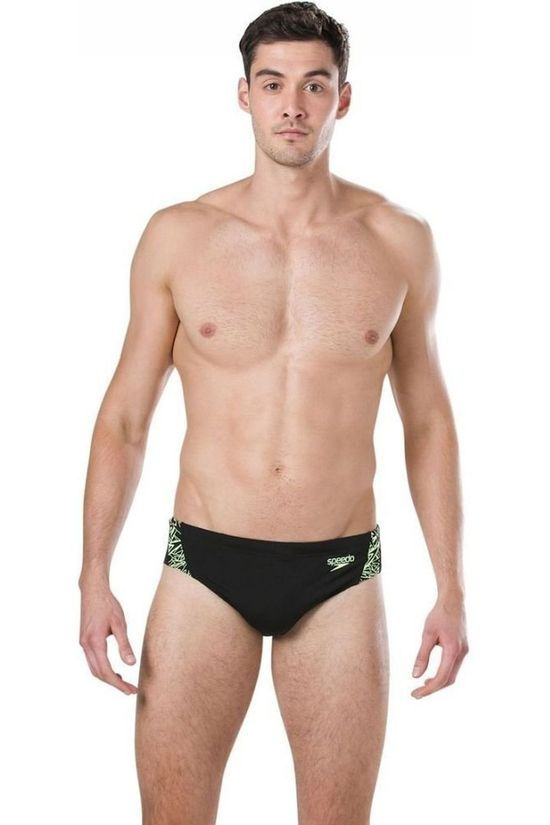 Speedo Slip Endurance Boom Splice 7Cm black/yellow