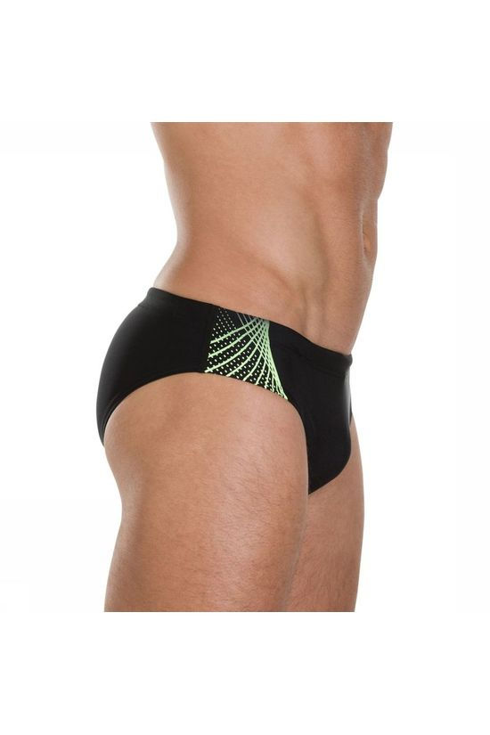 Speedo Slip Gala Logo 7Cm black/green