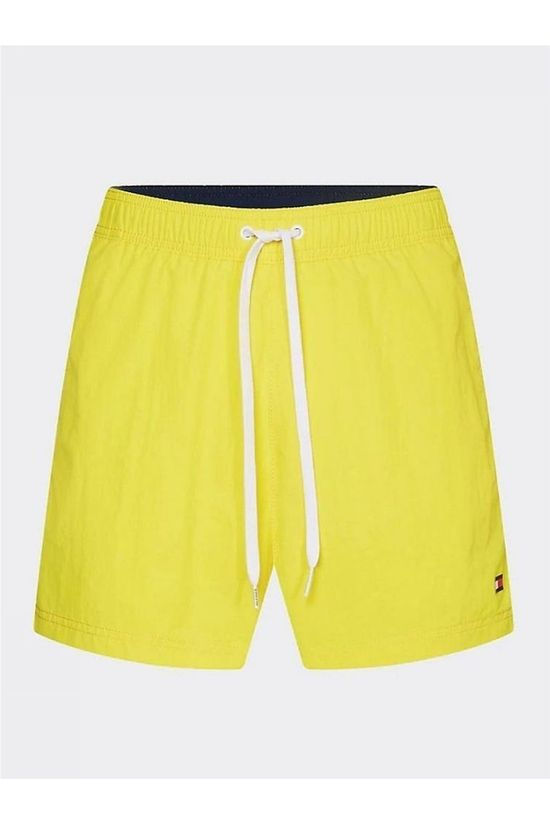 Tommy Hilfiger Short De Bain Sf Medium Drawstring Jaune