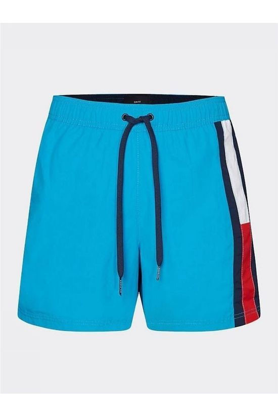 Tommy Hilfiger Zwemshort Sf Medium Drawstring Turkoois