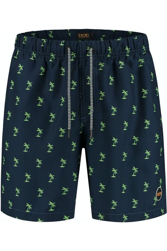 Shiwi Swim Shorts Shiwi Palmtree Navy Blue