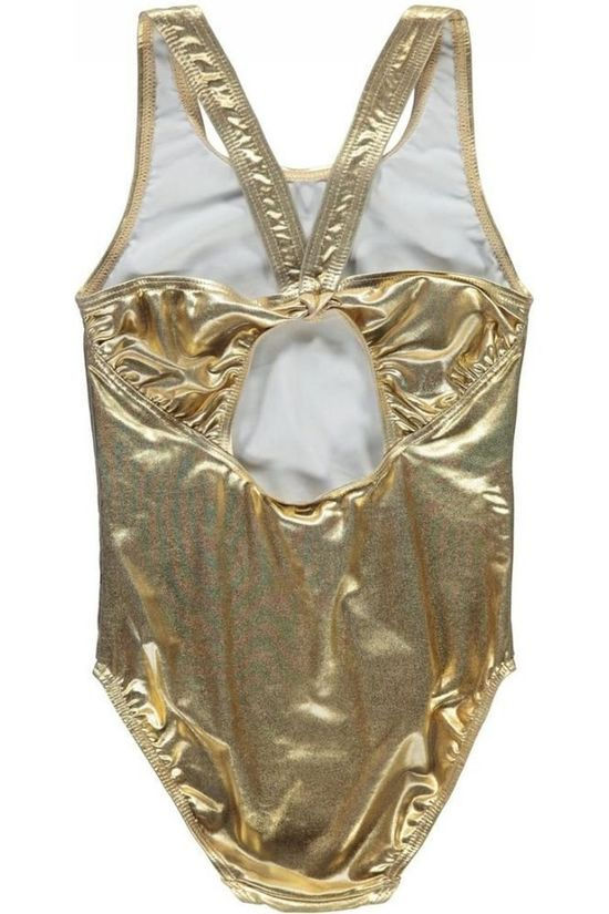 Name It Maillot de Bain Nkfzuala Gold Or
