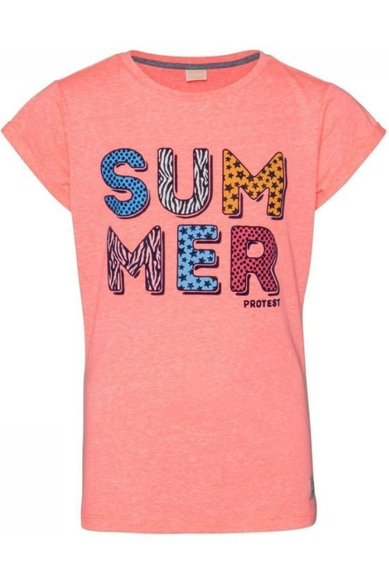 Protest Top Wende Jr Salmon pink