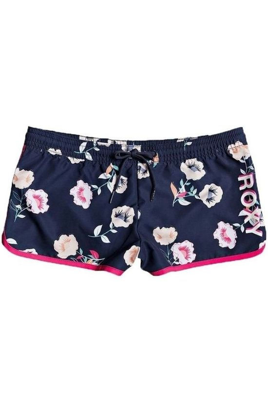 Roxy Shorts Lets Get Salty Dark Blue/Ass. Flower