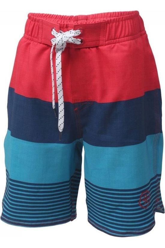 Color Kids Zwemshort Nelta Middenrood/Donkerblauw