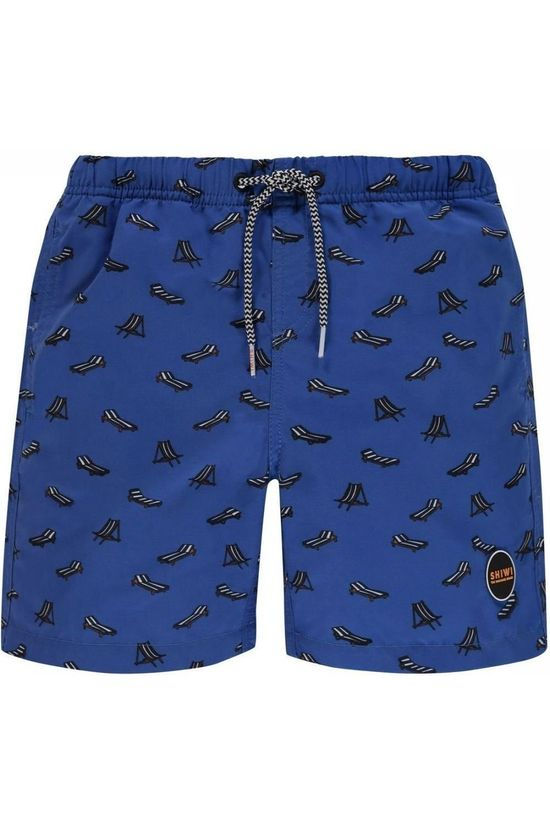 Shiwi Swim Shorts Lazy Beach Royal Blue/Assorted / Mixed