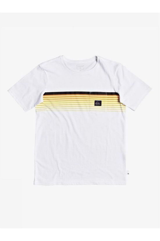 Quiksilver Top Slab Pocket Tee Ss Yth white