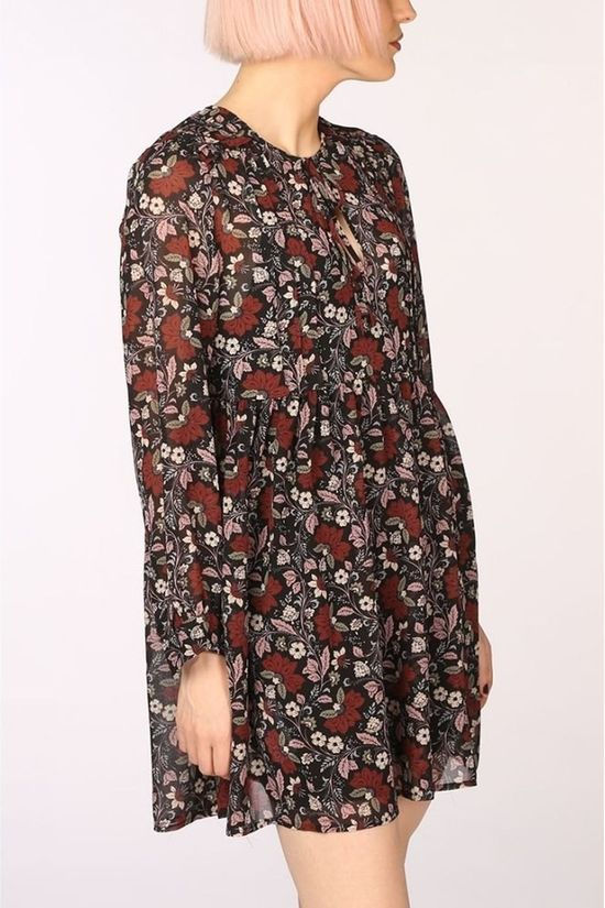 Pepe Jeans Dress Tari Black/Ass. Flower