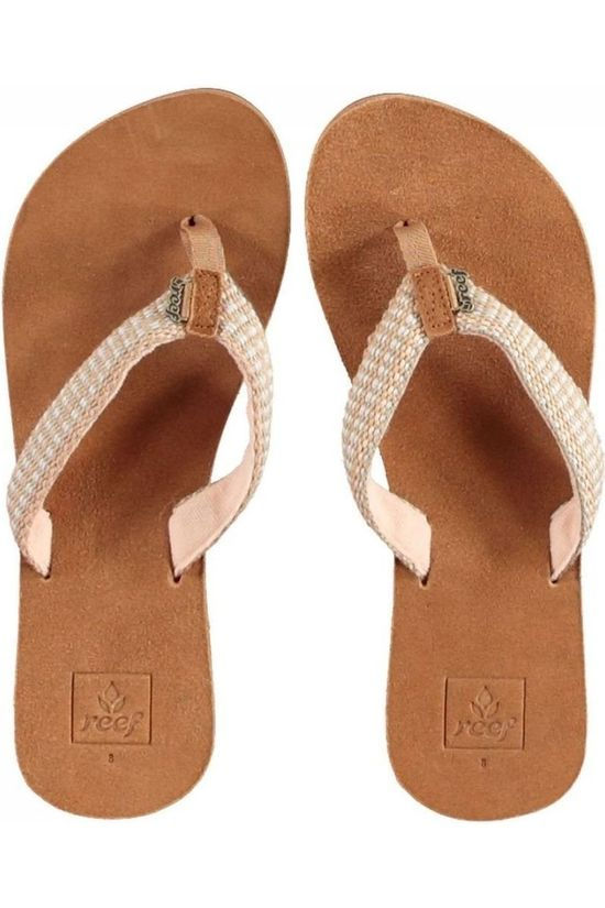 Reef Flip Flops Gypsy Love Ecru/Light Pink