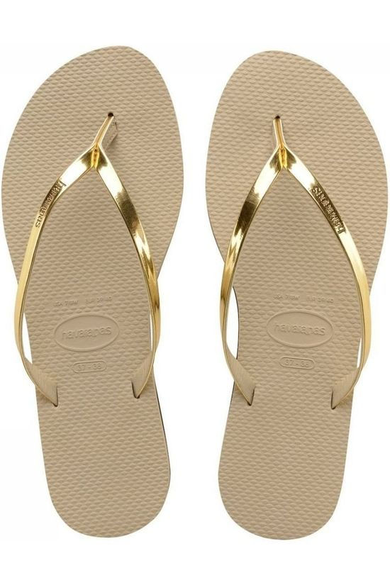 Havaianas Flip Flop You Metallic Sand Brown/Mid Grey