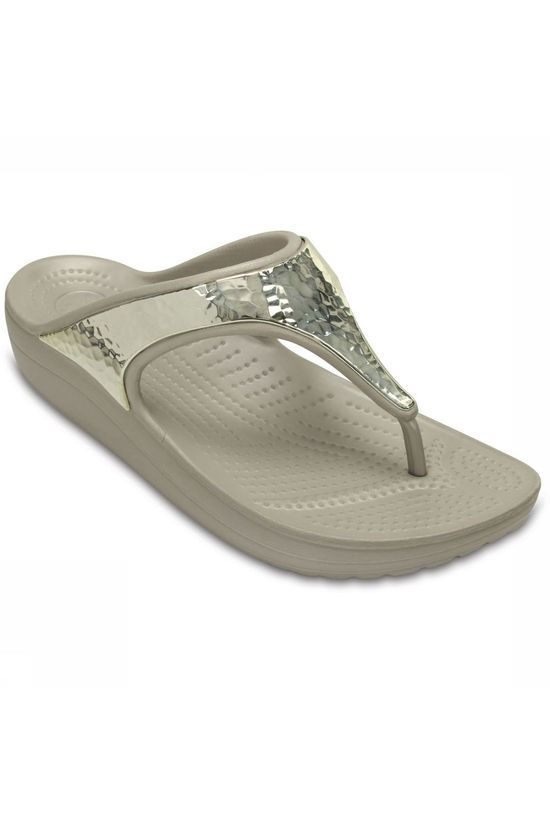 Crocs Tongs Sloane Emellished Flip Argent