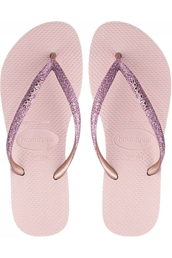 Havaianas Flip Flop Slim Glitter light pink/gold