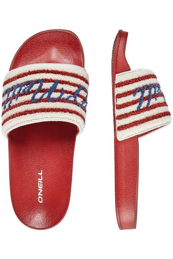 O'Neill Flip Flop Fw Slide Terry red/white