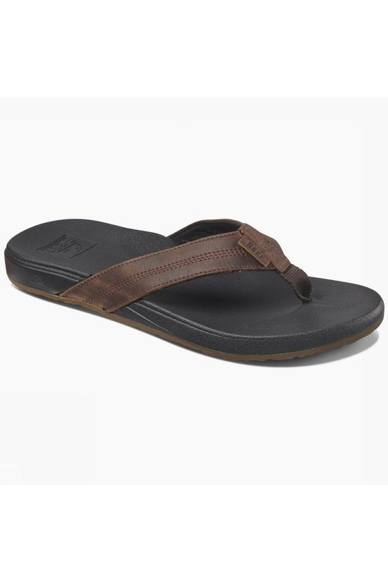 Reef Flip Flop Cshn Bnce Phantom Le dark brown