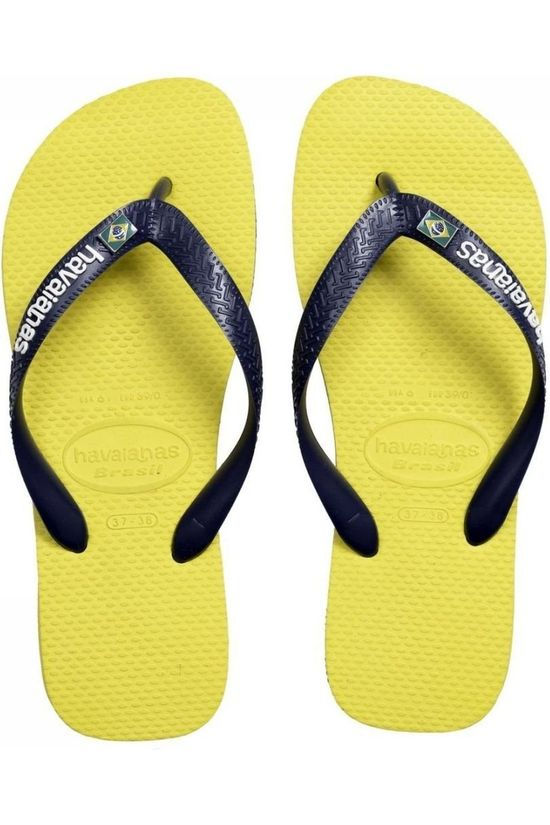 Havaianas Flip Flop Brasil Layers yellow