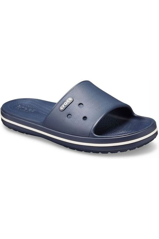 Crocs Tongs Crocband Iii Slide Bleu Marin/Blanc