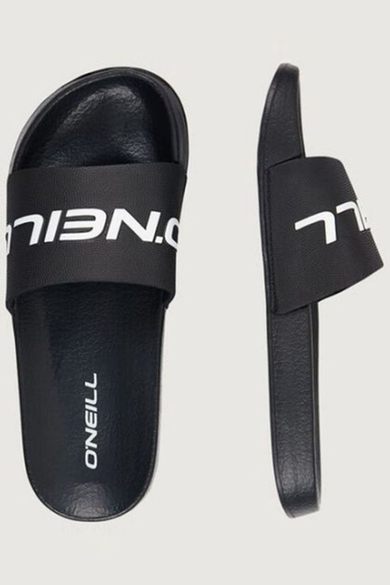 O'Neill Tongs Fm Slide Logo Noir